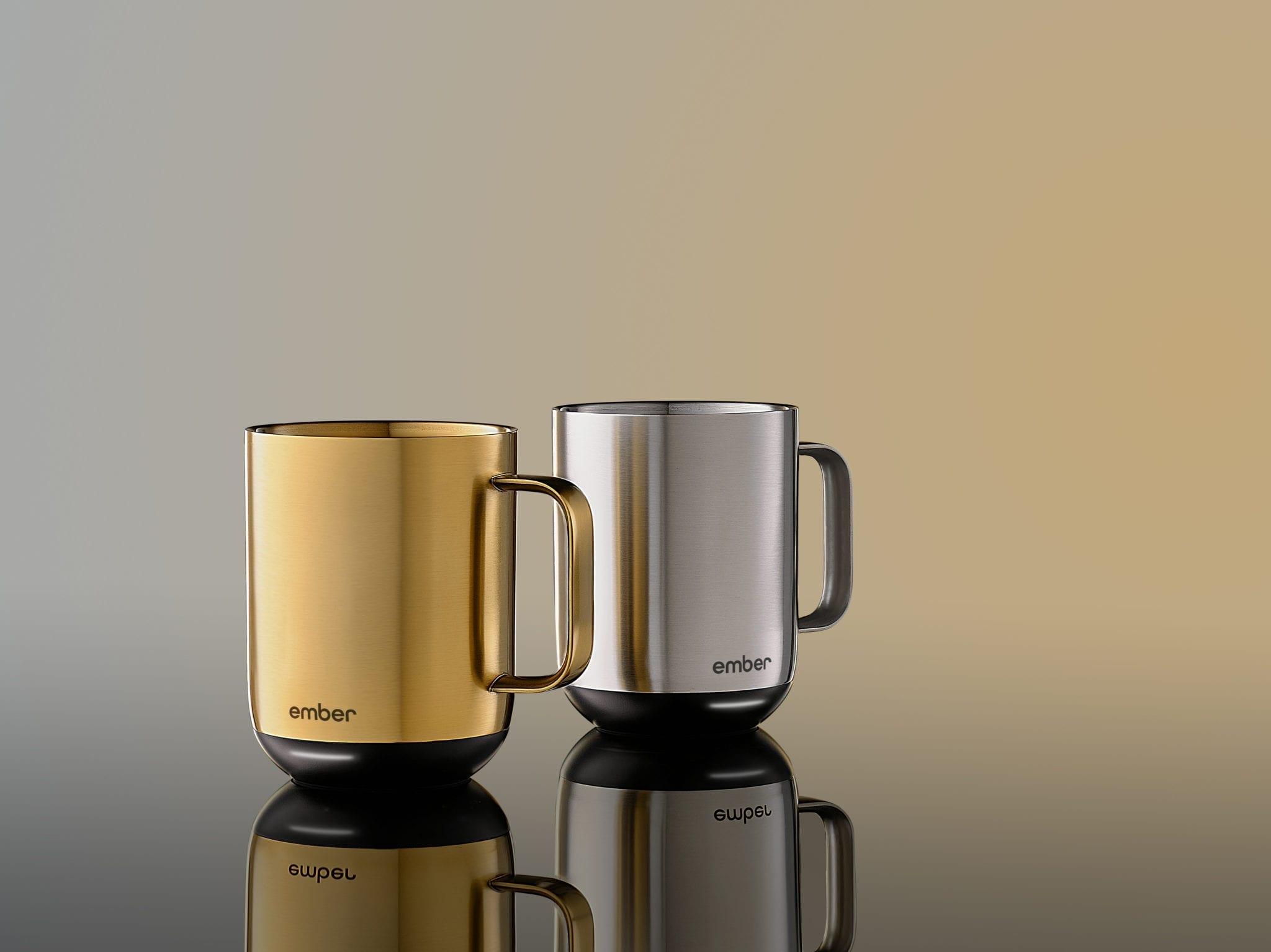 Ember Introduces Metallic Collection of Award-Winning Temperature Control Mug