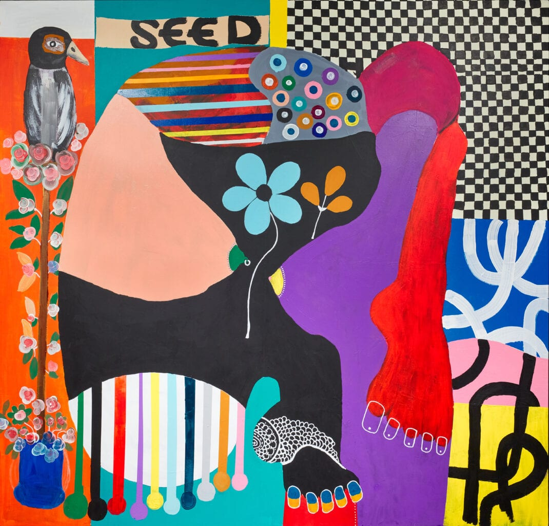 KOJO MARFO'S DEBUT SOLO EXHIBITION AT JD MALAT GALLERY