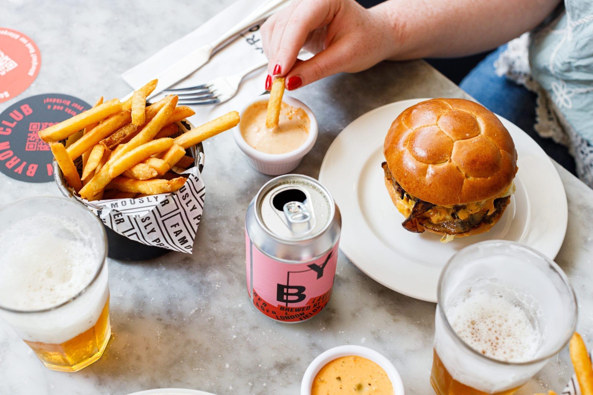 Dribble Burger by Byron Burgers