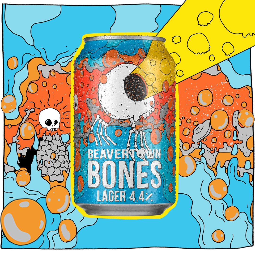 Beavertown Brewery announces the launch of its 'out of this world' brand new lager, Bones